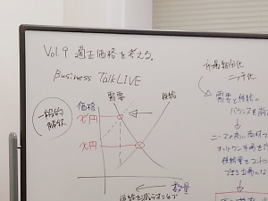 talkLIVE Vol.9 会社を伸ばす「適正価格」を考える